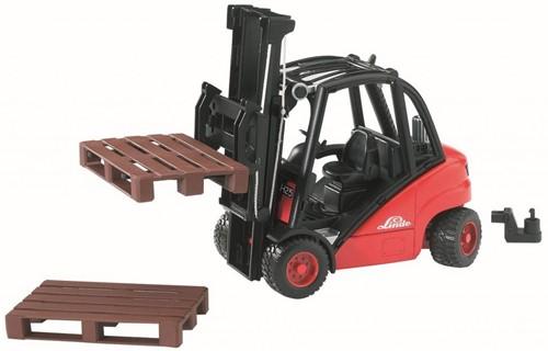 BRUDER Linde fork lift H30D with 2 pallets toy vehicle