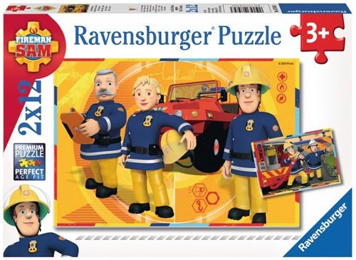 Ravensburger Sam aan het werk Jigsaw puzzle 12 pc(s)
