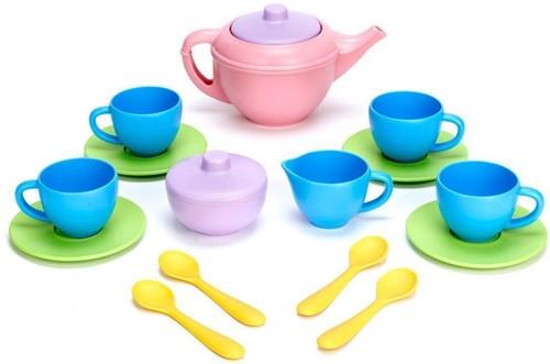 Green Toys Tea Set - PINK TEAPOT
