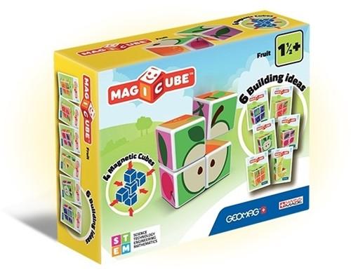 Geomag MagiCube Fruit - 4 pcs