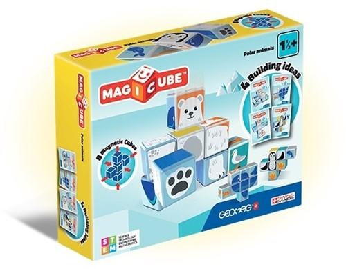 Geomag MagiCube Polar Animals - 8 pcs