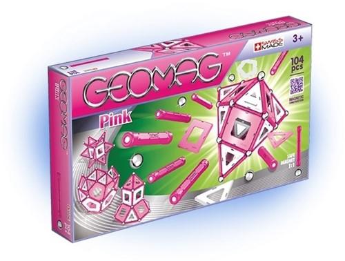 Geomag Panels Pink 104 pcs neodymium magnet toy