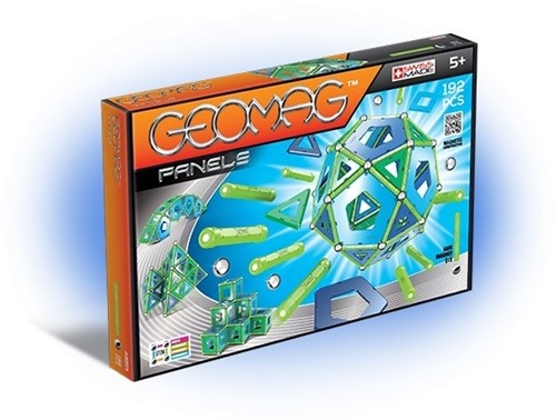 Geomag Panels 192 pcs neodymium magnet toy Blue,Green