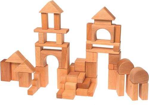Grimm's - 60 Natural Geo-Blocks