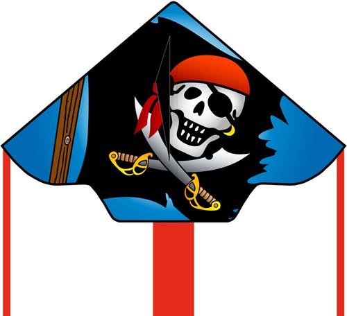 HQ Simple Flyer Jolly Roger 120 cm
