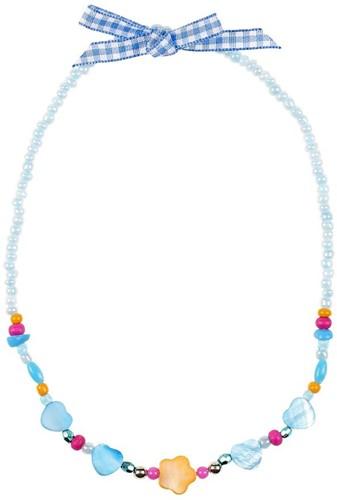 Souza Ketting Ciske, blauw-oranje, volledig elastisch (1 stuk)