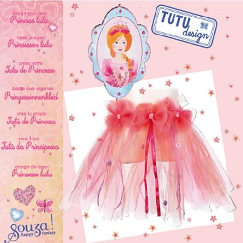 Souza Tutu design kit , roze (4 kits)