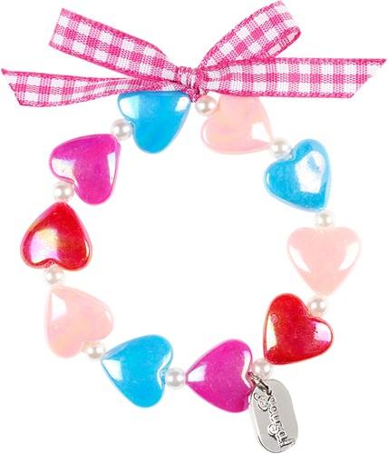 Souza Armband Aya, hartjes multi-kleur (1 stuk)