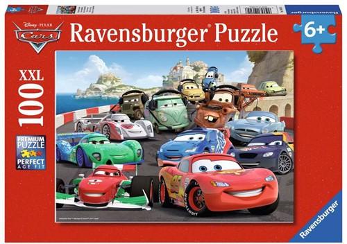 Ravensbuger Puzzel 100 XXL DCA: Explosieve race