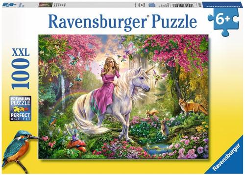 Ravensbuger Puzzel 100 XXL Magisch ritje