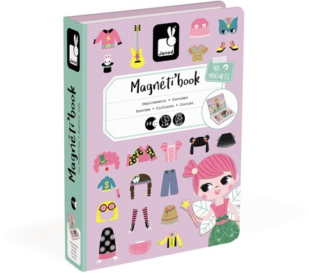 Girl'S Costumes Magneti'Book