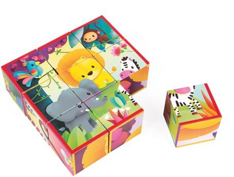 Kubkid - 9 Blocks - Jungle Animals