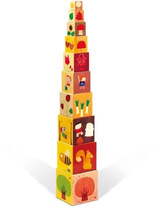 4 Seasons Square Stacking Pyramid