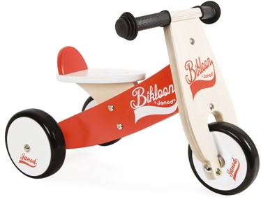 Little Bikloon Red And White Ride-On