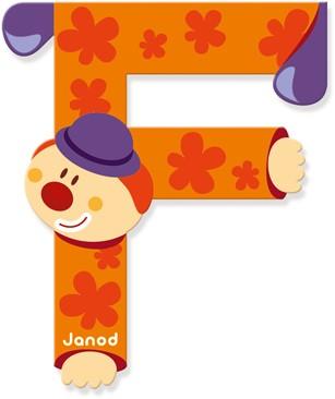 Clown Letter F