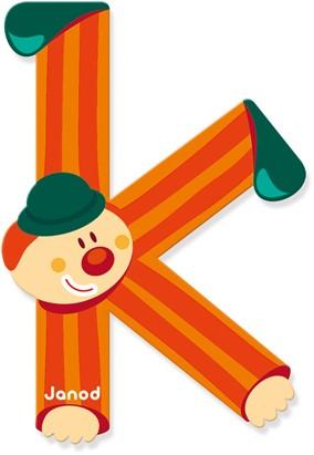 Clown Letter K