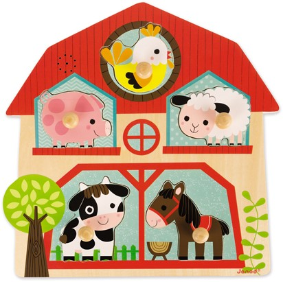 JANOD Musical Puzzle , The Friends Of The Farm