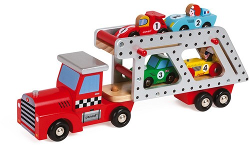 JANOD Story 4 Cars Transporter Lorry