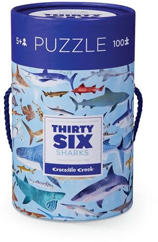 Crocodile Creek 4054-8 puzzle Jigsaw puzzle 100 pc(s)
