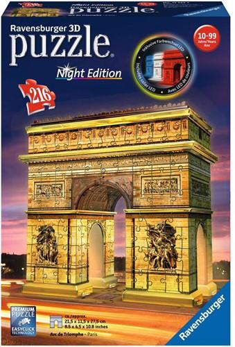Ravensburger Arc De Triomphe Night Edition 3D puzzle