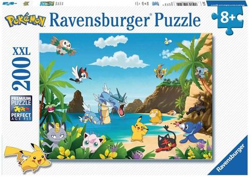 Ravensbuger Puzzel 200 XXL Pokémon