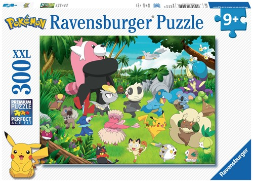 Ravensbuger Puzzel 300 stukjes  POK: Pokémon