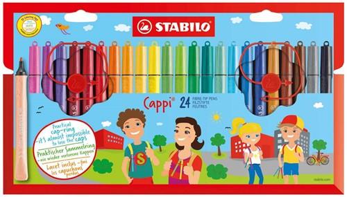 STABILO Cappi felt pen Multicolor 24, 1