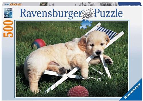 Ravensburger Golden Retriever Jigsaw puzzle 500 pc(s)