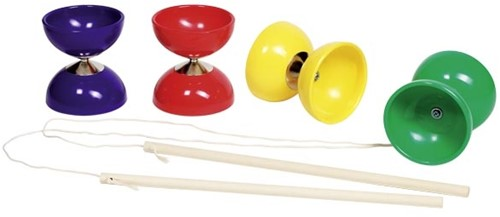 Goki Diabolo with 2 wooden sticks and string
