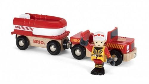 BRIO Rescue Boat toy vehicle