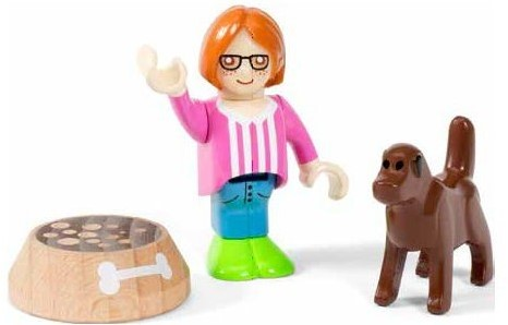BRIO Figure and Dog
