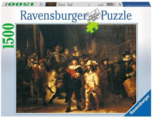 Ravensbuger Puzzel 1500 stukjes De Nachtwacht