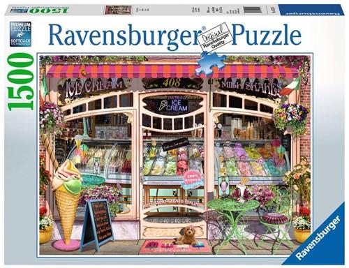 Ravensburger Ice Cream Shop Tile puzzle 1500 pc(s)