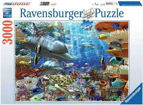 Ravensbuger Puzzel 3.000 stukjes Leven onder water