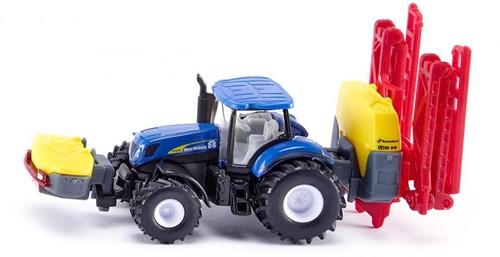 Siku New Holland Tractor with Kverneland crop sprayer