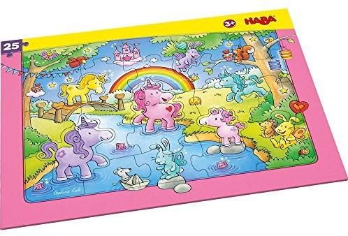 HABA Frame puzzle Unicorn Glitterluck