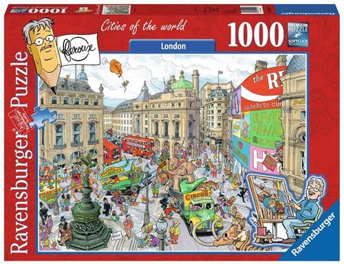 Ravensbuger Puzzel FLeroux comic style FLE: London