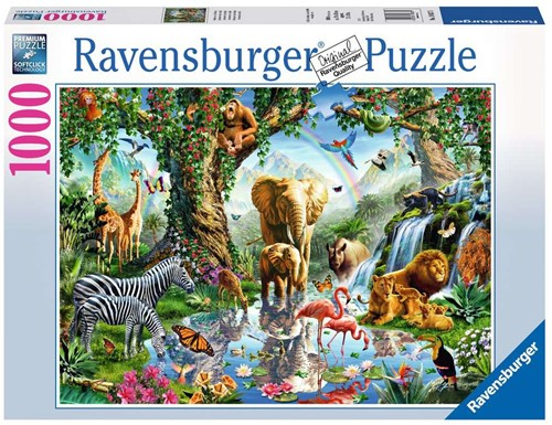 Ravensburger Adventures in the Jungle Jigsaw puzzle 1000 pc(s)
