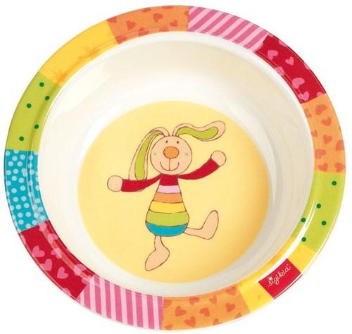sigikid Melamine bowl, Rainbow Rabbit