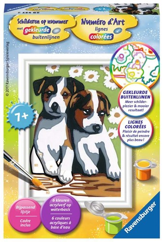 Ravensburger Schattige puppies