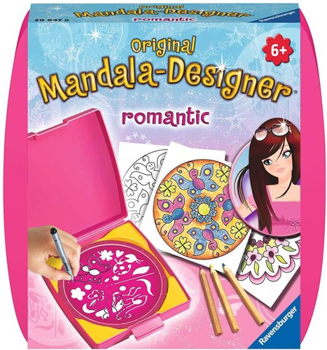 Ravensburger Romantic Mini Mandala kids' spirograph