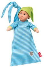 sigikid Pallimchen doll blue, Softdolls