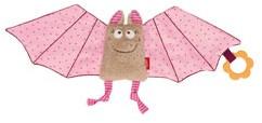 sigikid Comforter bat pink, Baby bite me!