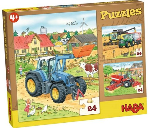 HABA Puzzles Tractor and Co.