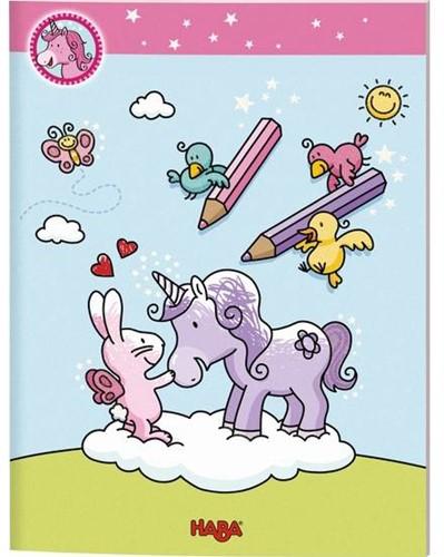 HABA Unicorn Glitterluck - Coloring book
