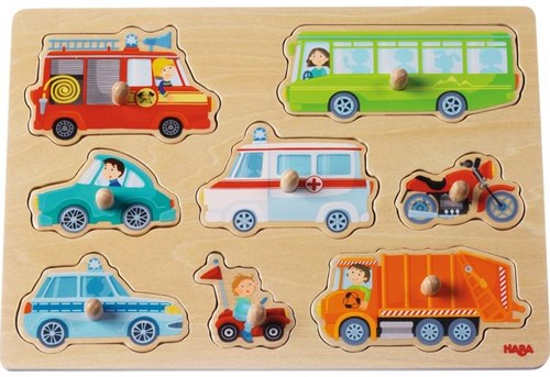 HABA Clutching Puzzle World of vehicles