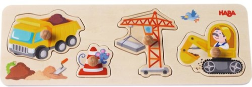 HABA Clutching Puzzle Building site