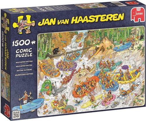 Jan van Haasteren Wild Water Rafting 1500 pieces