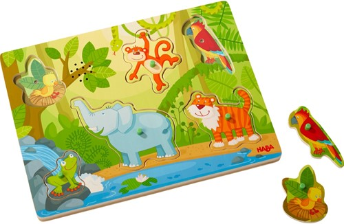 HABA Sounds - Clutching Puzzle In the jungle