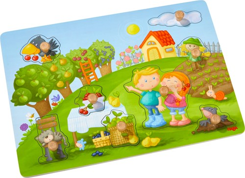 HABA Clutching puzzle Orchard